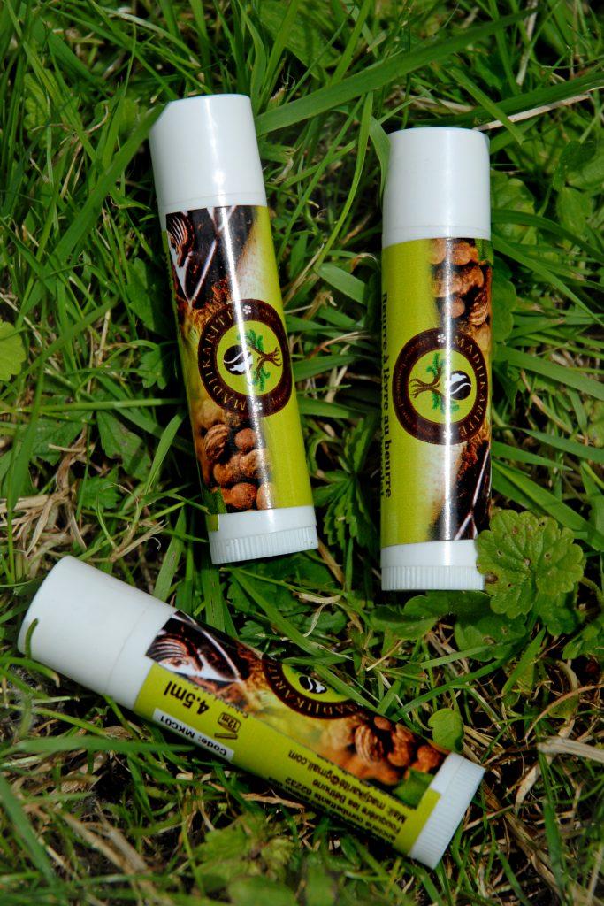 baume lèvres au chocolat