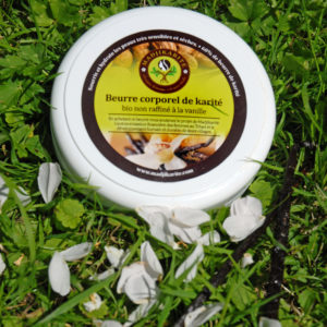 beurre de karité et Vanille
