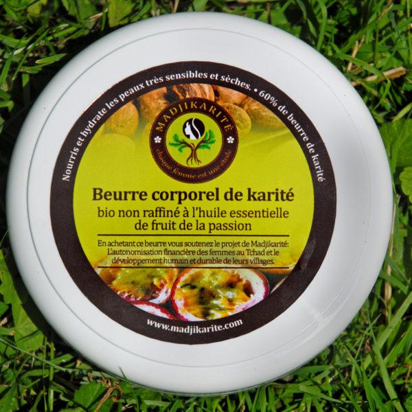 beurre de karité et fruit de la passion