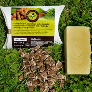 savon à l' huile de moringa